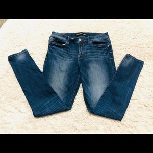 Express Brand Mid Rise Mia Legging jeans